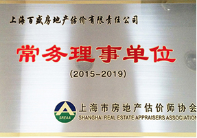 Executive director(President) member of Shanghai Real Estate Appraiser Association