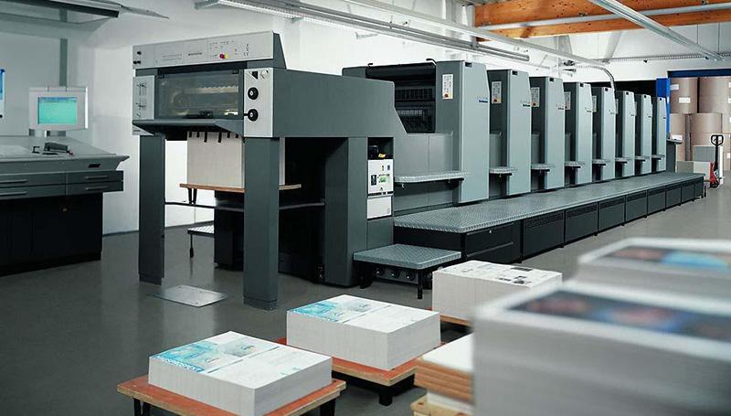 包裝印刷領域