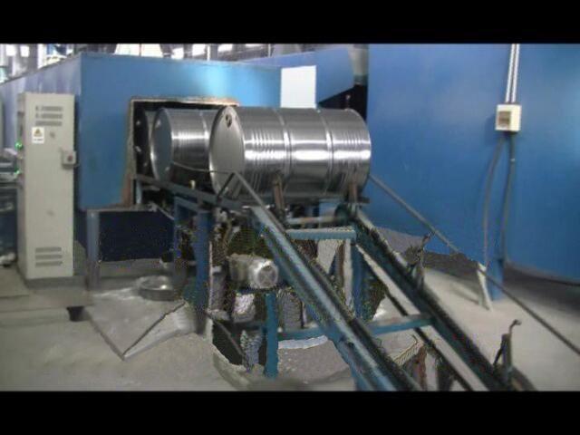200L鋼桶涂裝生產線