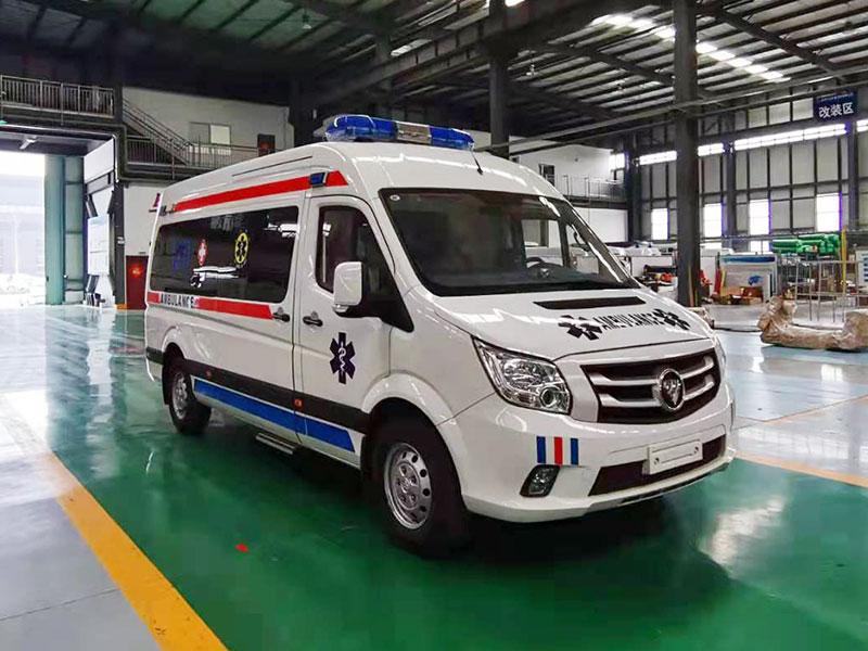 图雅诺监护救护车