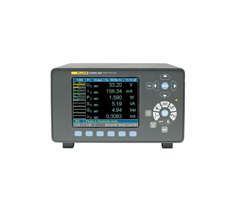 Fluke NORMA 4000 高精度功率分析儀