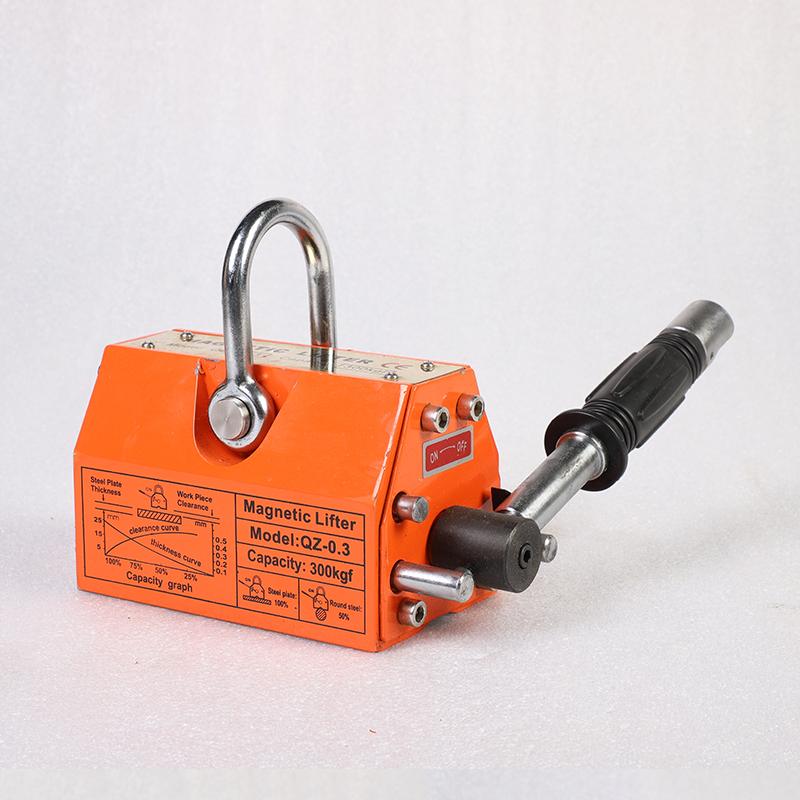 QZ1-0.3橘色手動永磁吊裝器