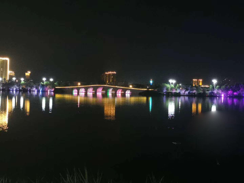 永修白莲湖亮化项目