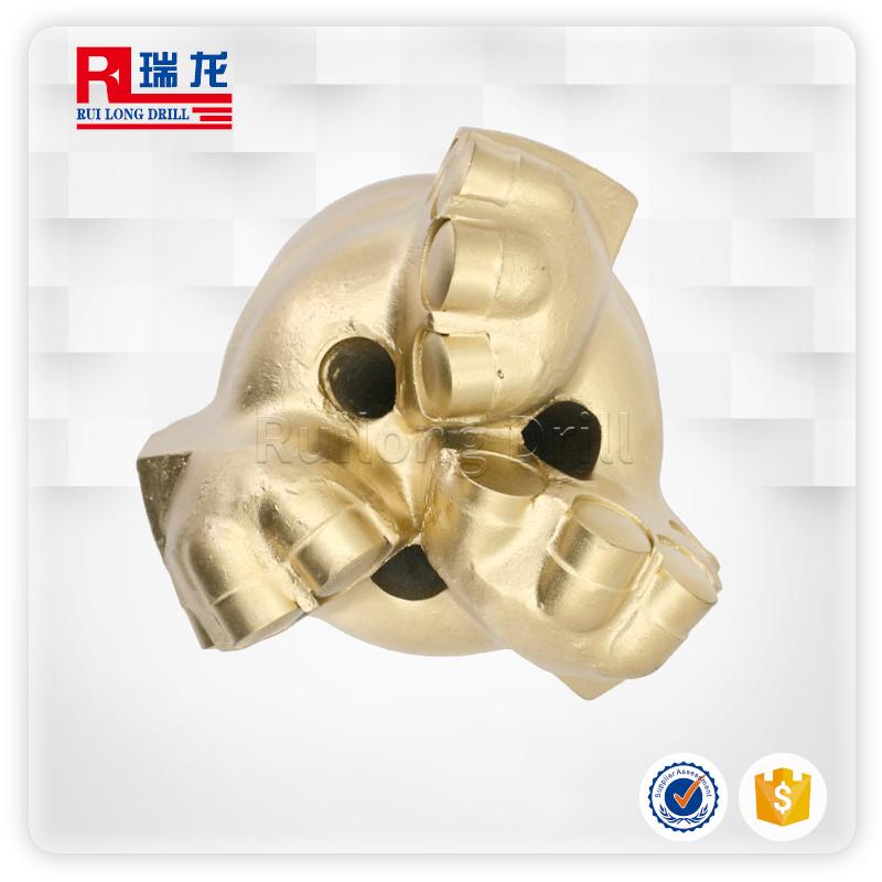 Φ98金刚石复合片烧结体弧角钻头 支持定制——瑞龙钻具