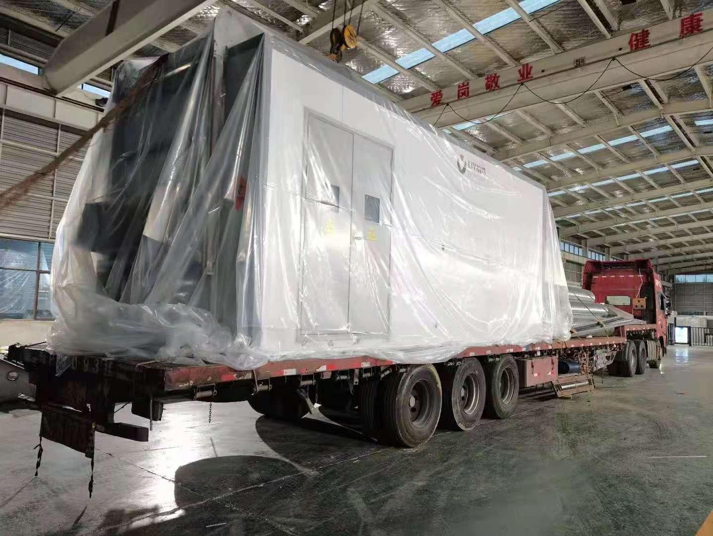 医疗废物处置设备发往新疆
