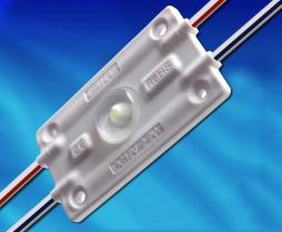 MDW155D, 1燈2.2W 3535帶光學160°注塑模組