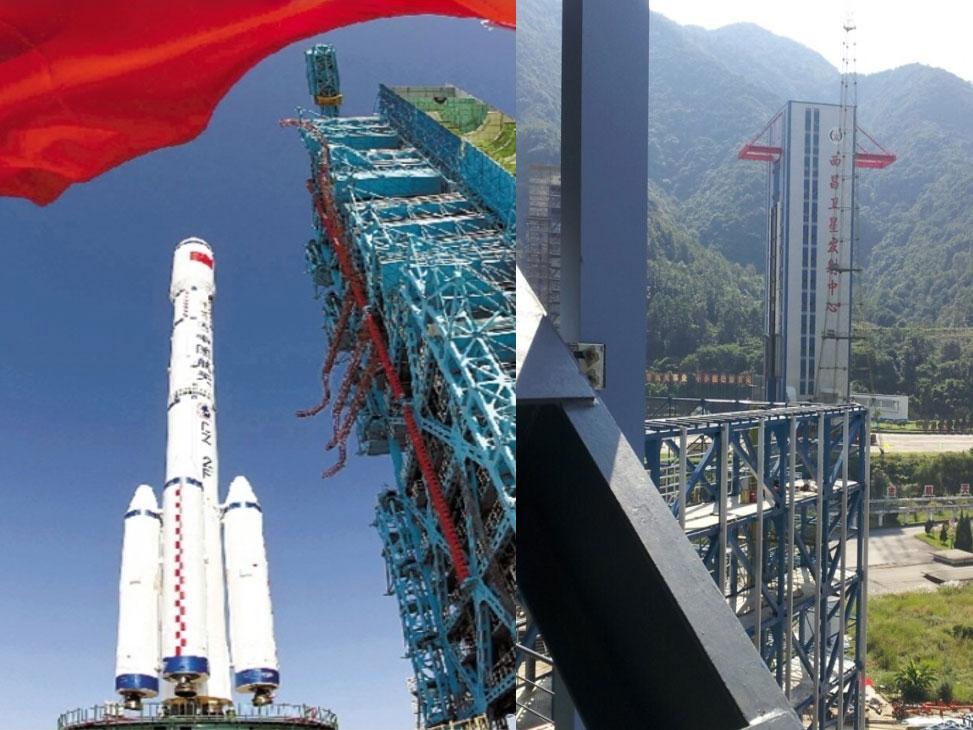 四川西昌卫星发射中心翻新工程