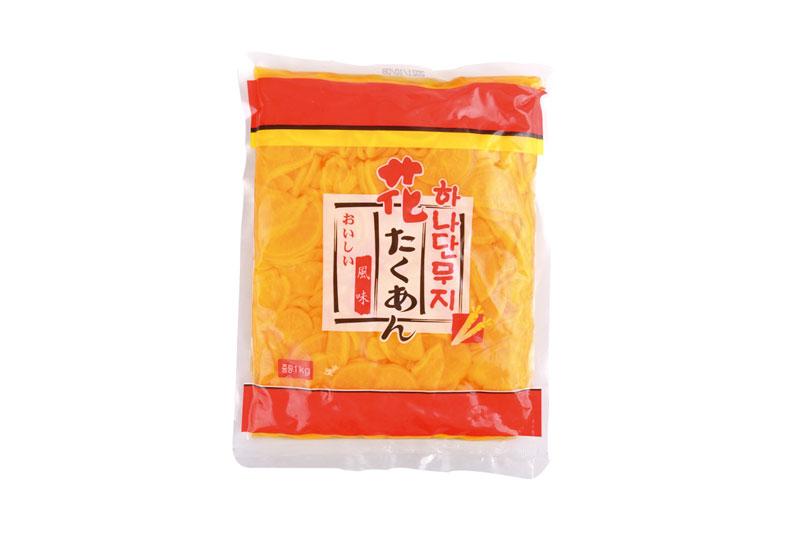 日式黃蘿卜片1kg