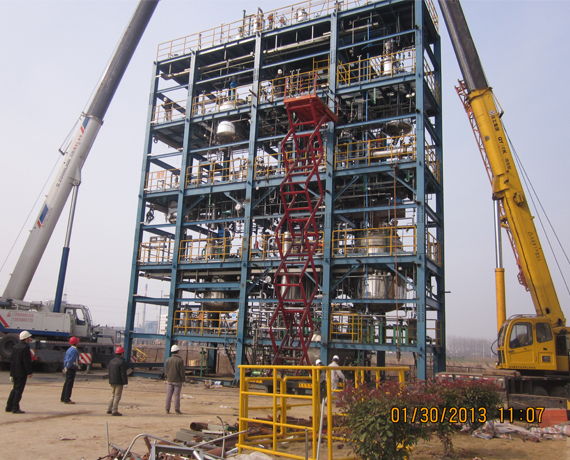 Shanghai sower successfully delivered a polyurethane multi-functional pry block device to a listed company in China