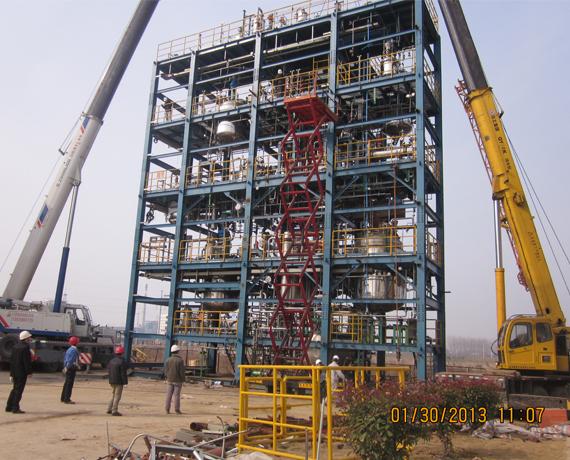 上海壹維公司成功交付國內某上市公司聚氨酯多功能大撬塊裝置