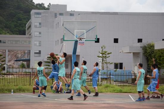 風雨籃球場,熱血精機人——第二屆華陽精機籃球賽圓滿結束