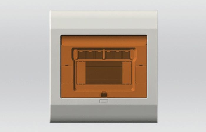 4-6位明裝、暗裝配電箱