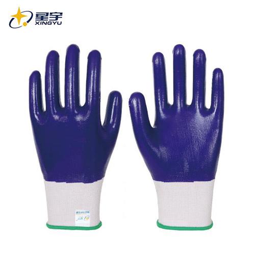 N599 13针白涤纶紫丁腈全浸
