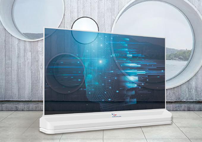 55寸OLED透明屏