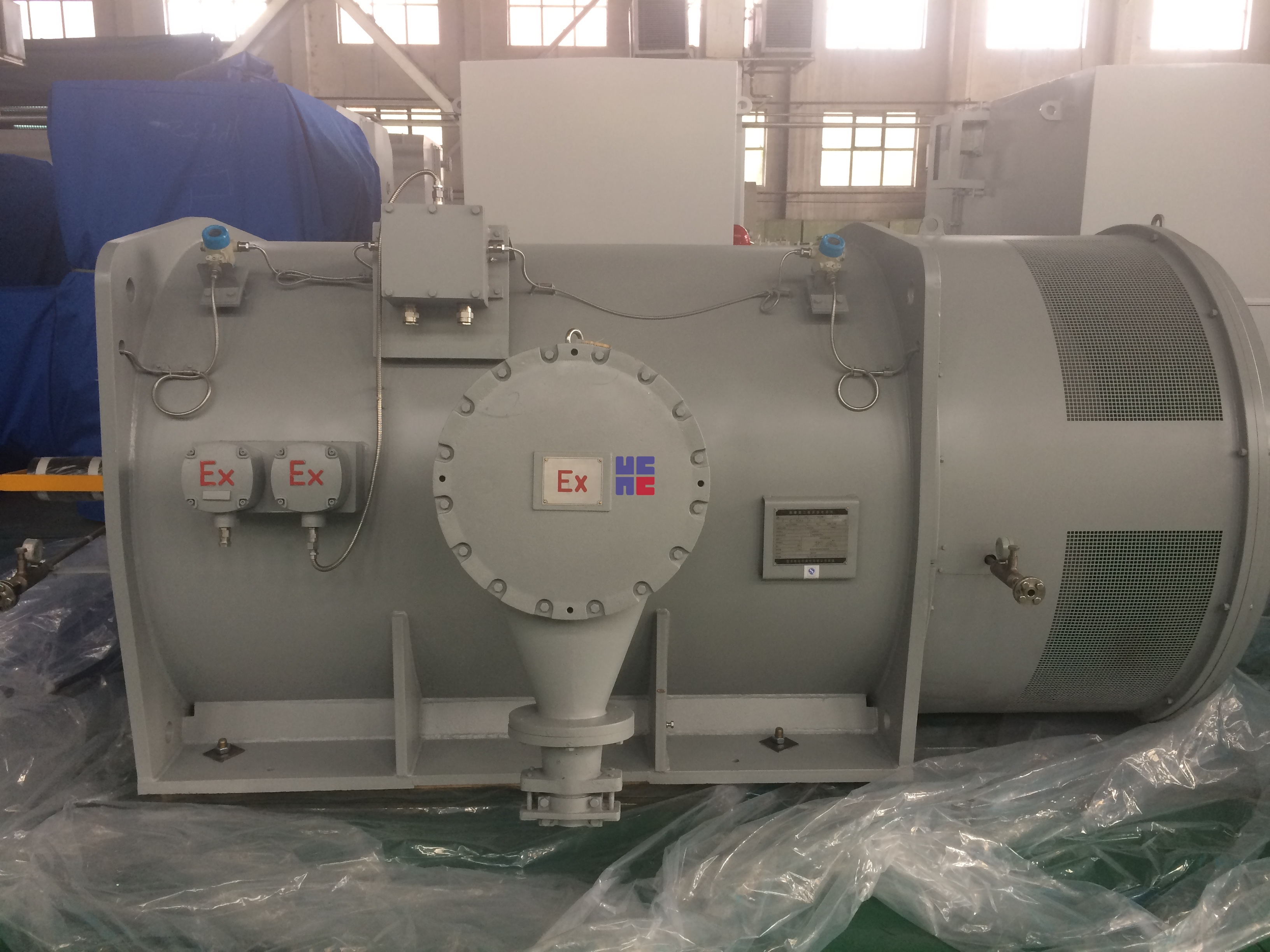 YBKK系列高壓隔爆型三相異步電動機(H500~H800)