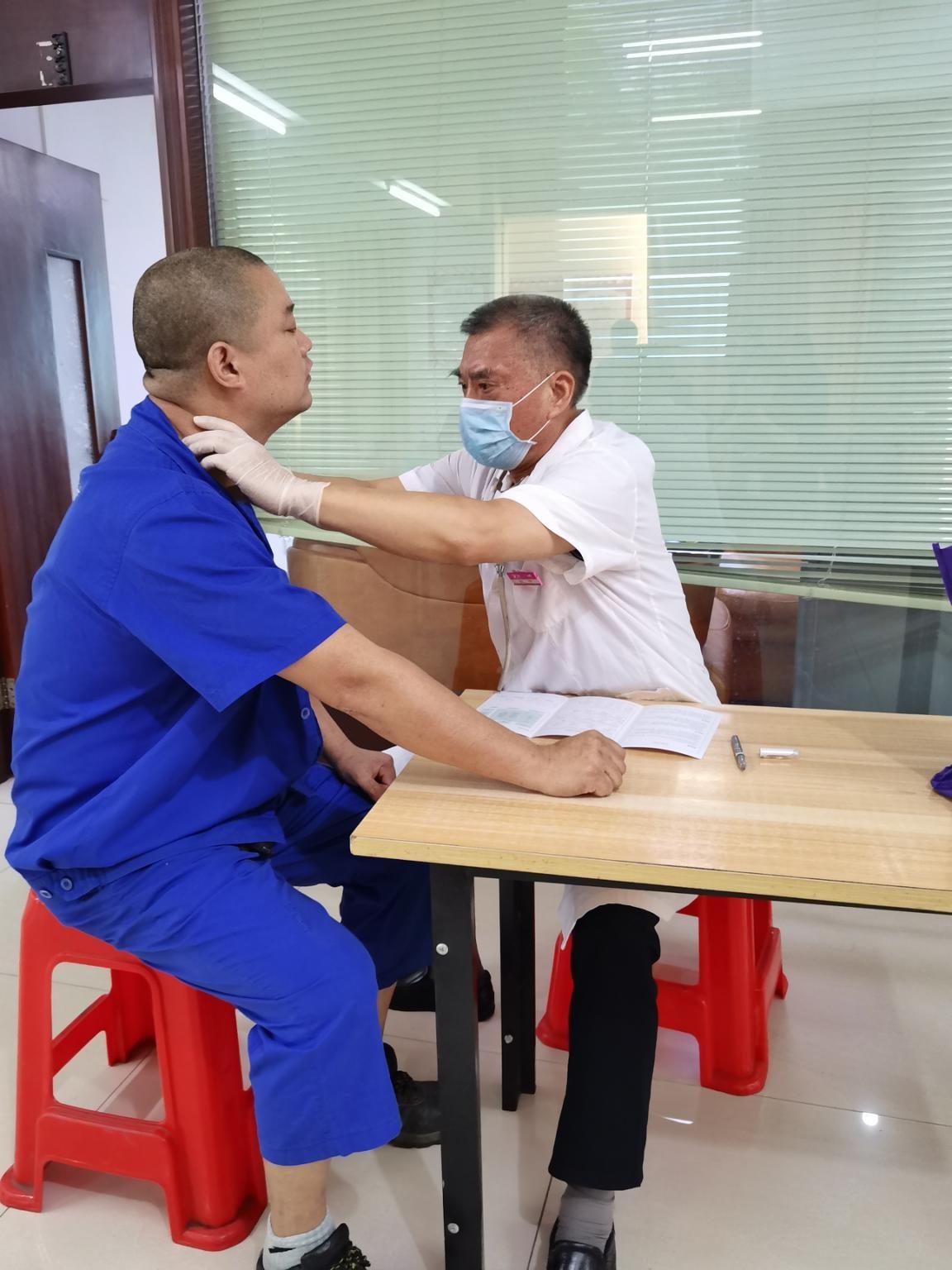 關愛員工·關注健康——7月公司組織員工健康體檢順利進行