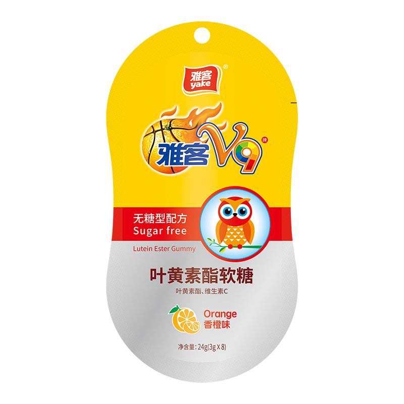 雅客V9葉黃素酯軟糖(無糖)