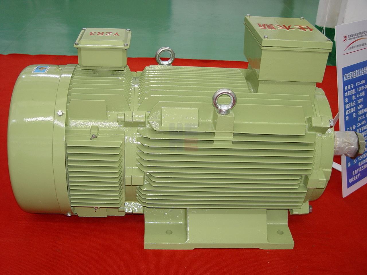 YZR3系列起重及冶金用繞線轉子三相異步電動機(機座號112-400)