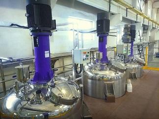甘肅某大型多元化集團乳膠漆項目投產