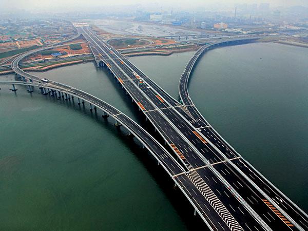 青岛海湾大桥1A合同段