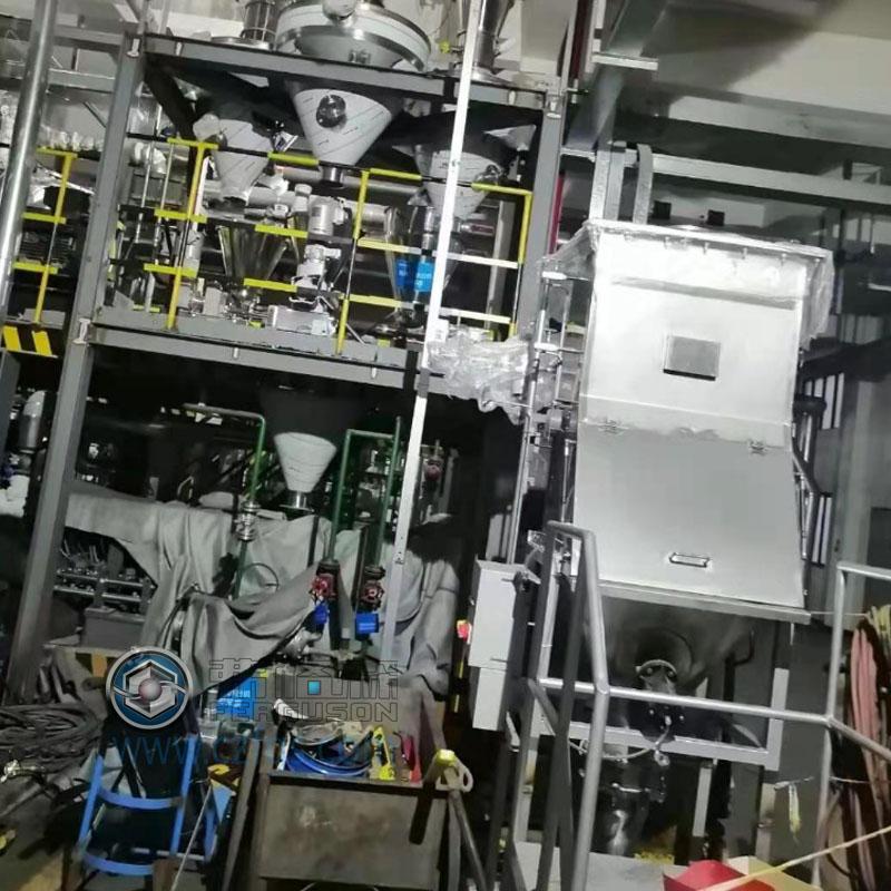 自動拆包,負壓上料及稱重系統