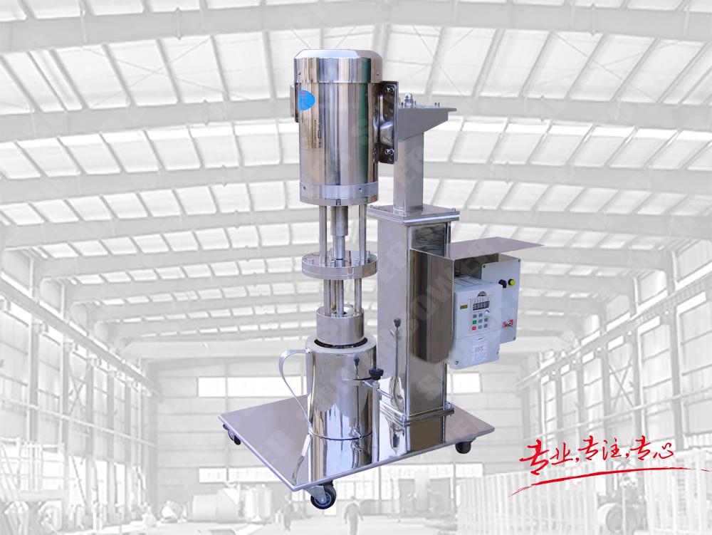 SMA-0.75實驗室電動籃式研磨機(不銹鋼)