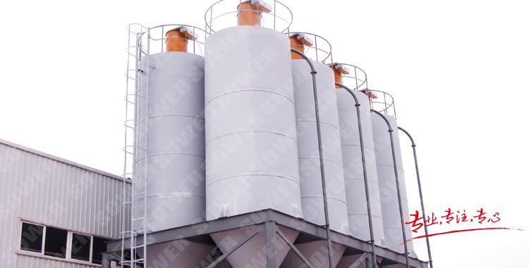 為涂料、油墨、干粉砂漿生產定制粉料輸送系統