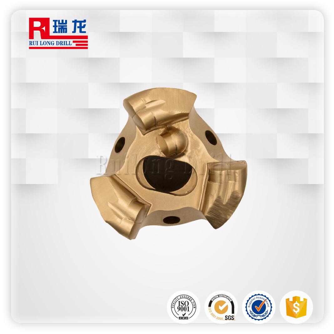 Φ89-N57.3*8.466金刚石(三翼双壁)无芯钻头钻孔用型号齐全瑞龙钻具