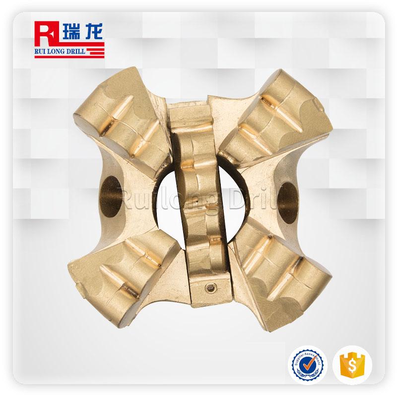 Φ133-N57.8-8.446金刚石复合片开闭合钻头