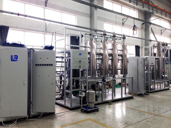 小型連續煤液化試驗裝置