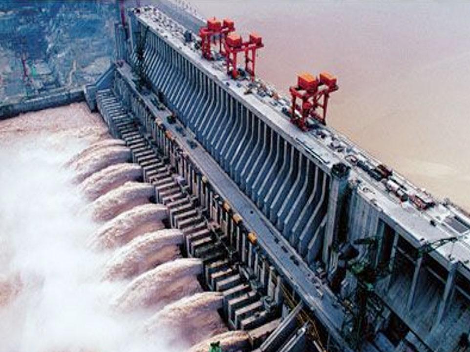 三峡大坝升船机重防腐工程