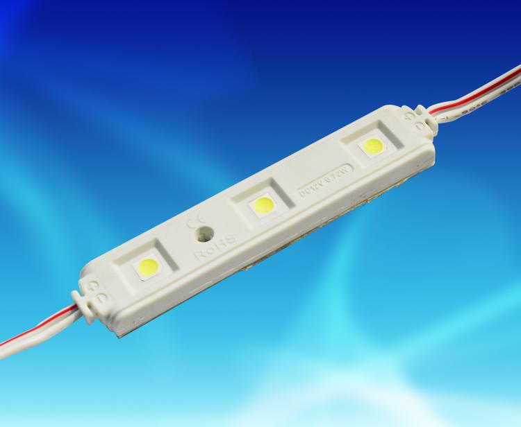 MPW141A,7815三燈貼片5050PVC注塑防水模組 DC12V