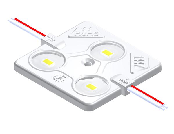 MAW153D1叁燈1.44W 5630帶透鏡恒流注塑方形模組