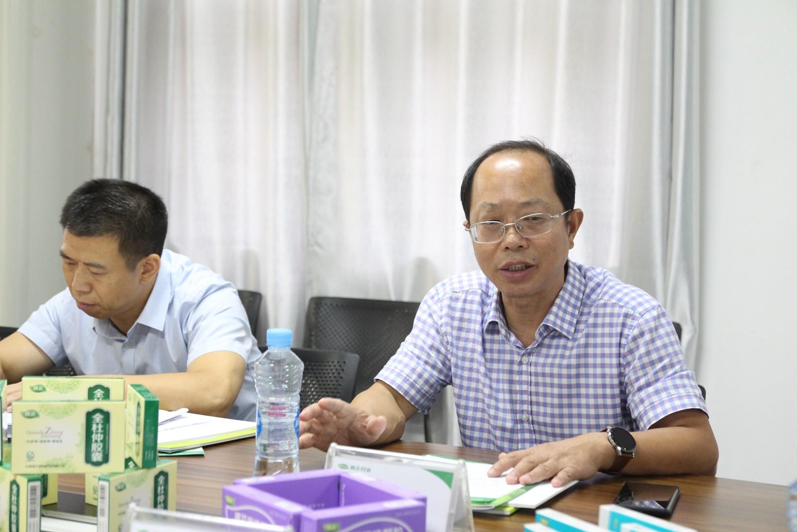 质量月质量行,刘建平局长到江西普正制药调研