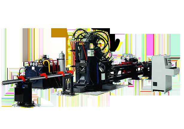 JNC系列数控角钢打字冲孔机剪切生产线