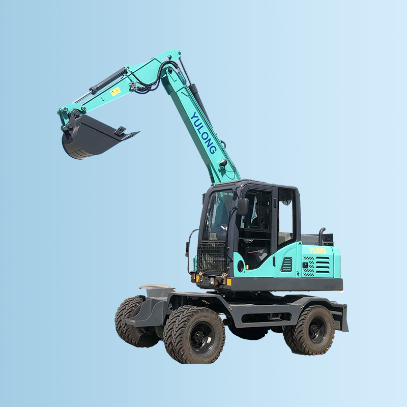 YL80W轮式挖掘机