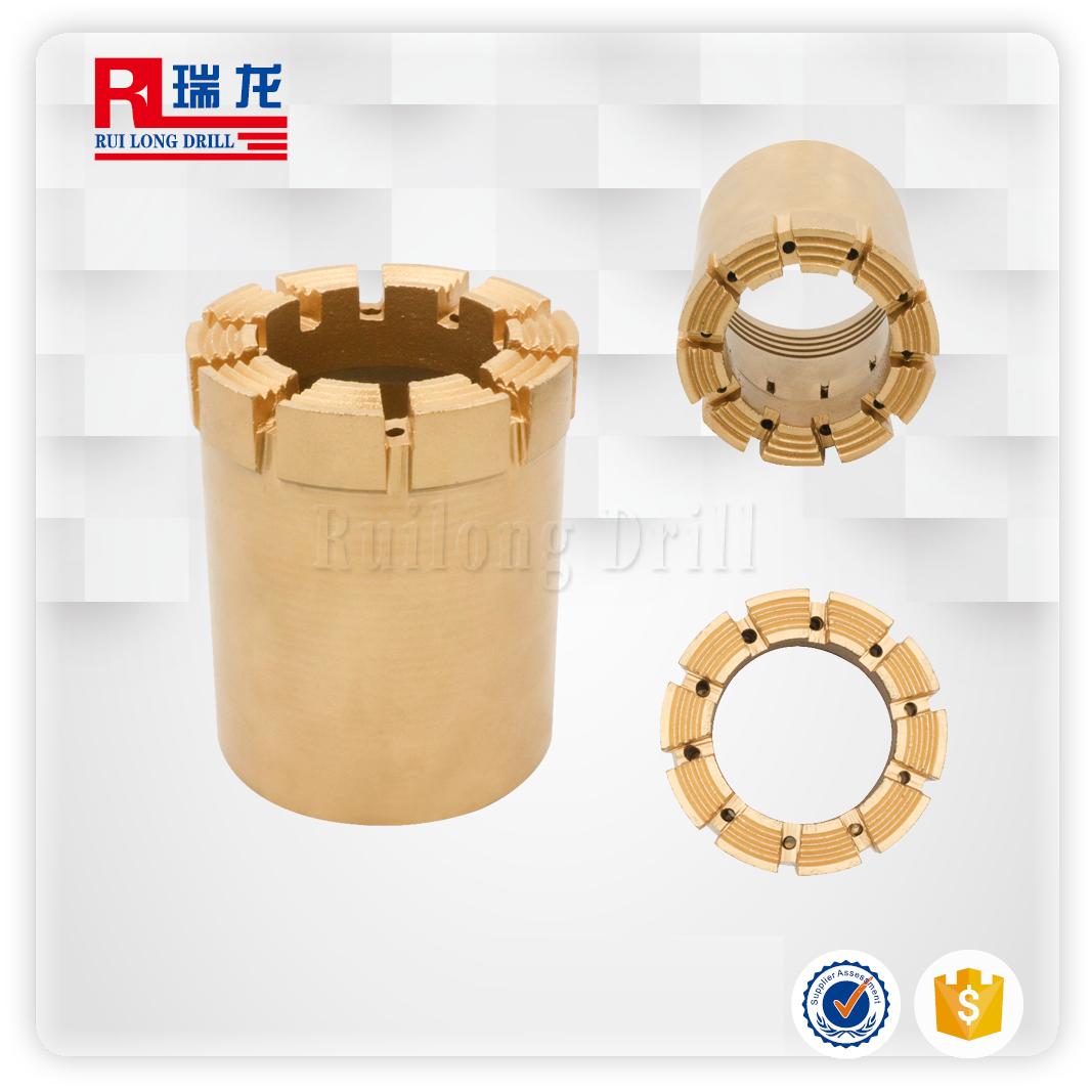 NQ-C12繩索取芯鉆頭金剛石復合片鉆頭瑞龍鉆具