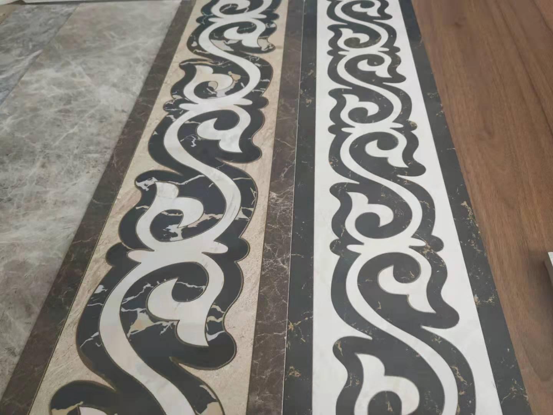 水刀拼花工藝 打造絢麗華貴的裝飾