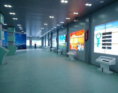 甘肅省蘭州市某部隊(N組)液晶拼接屏系統建設