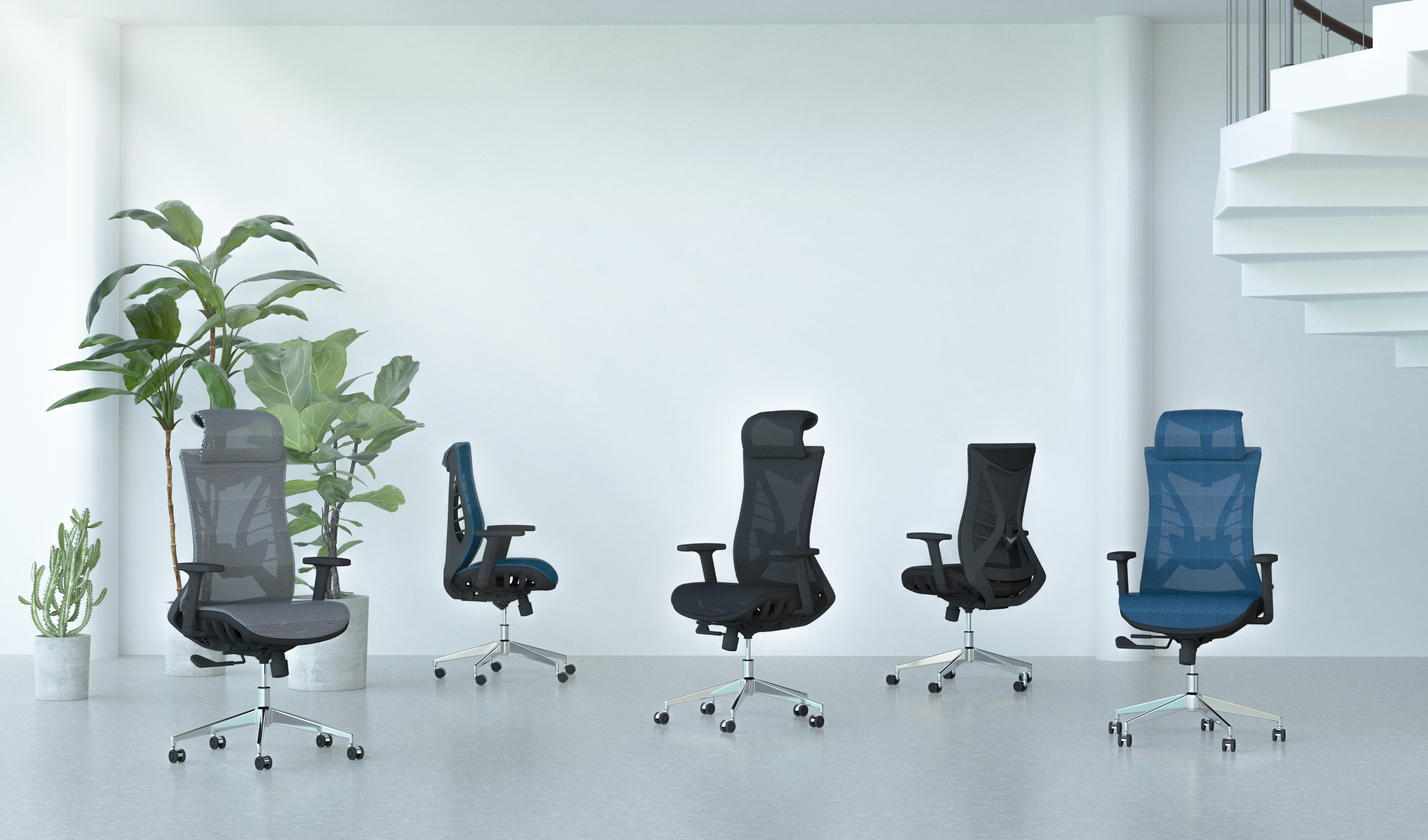 623A--主打人體工學設計和網椅流行款式