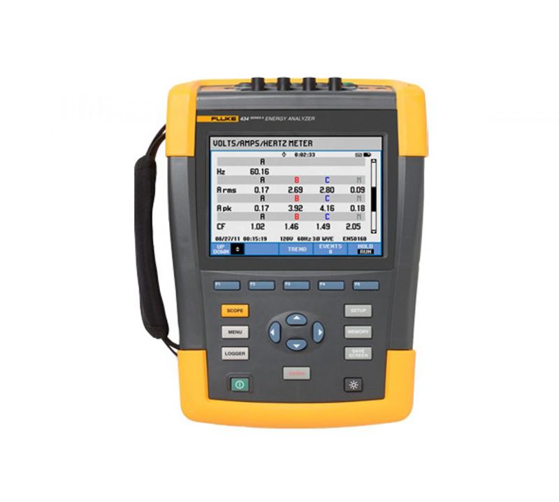 Fluke 434II-P/E/U/B系列三相電能質量分析儀