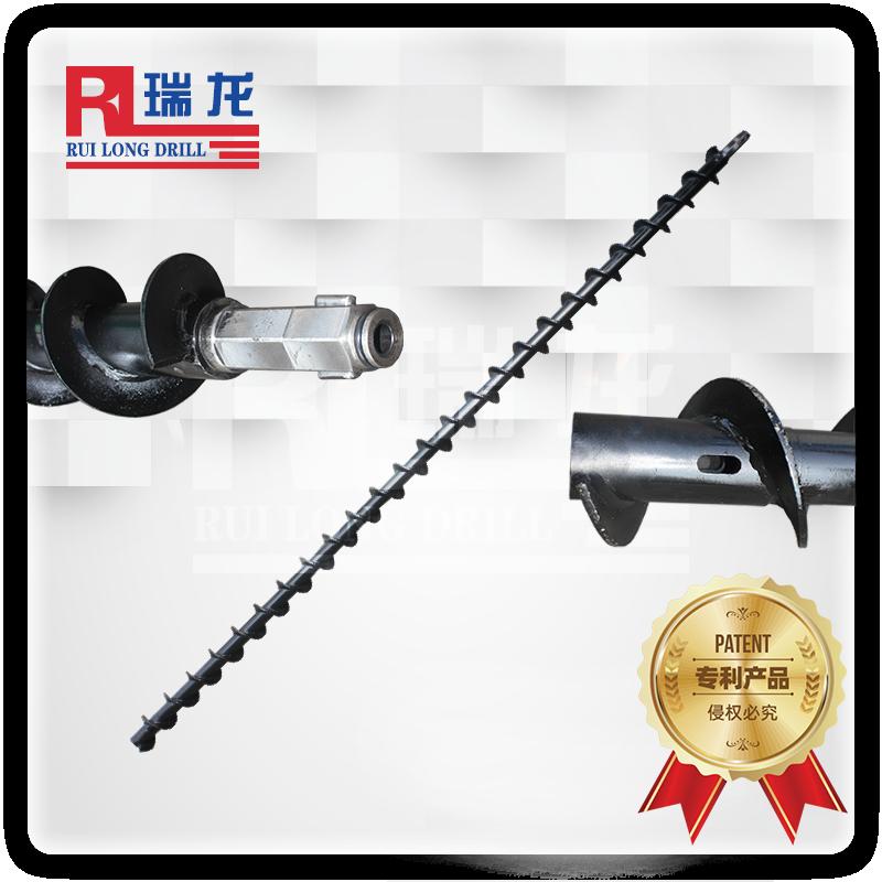 Φ110-50-B35-3000地质螺旋钻杆(长卡豆)DZL-518瑞龙钻具