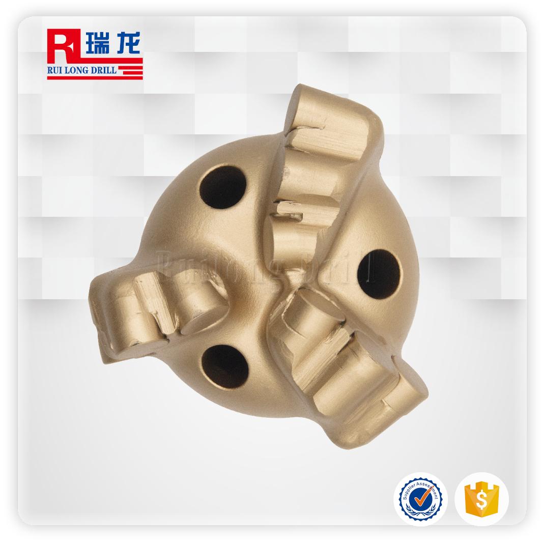 94-N50.5-5金刚石无芯钻头(三翼弧角钻头)支持定制——瑞龙钻具