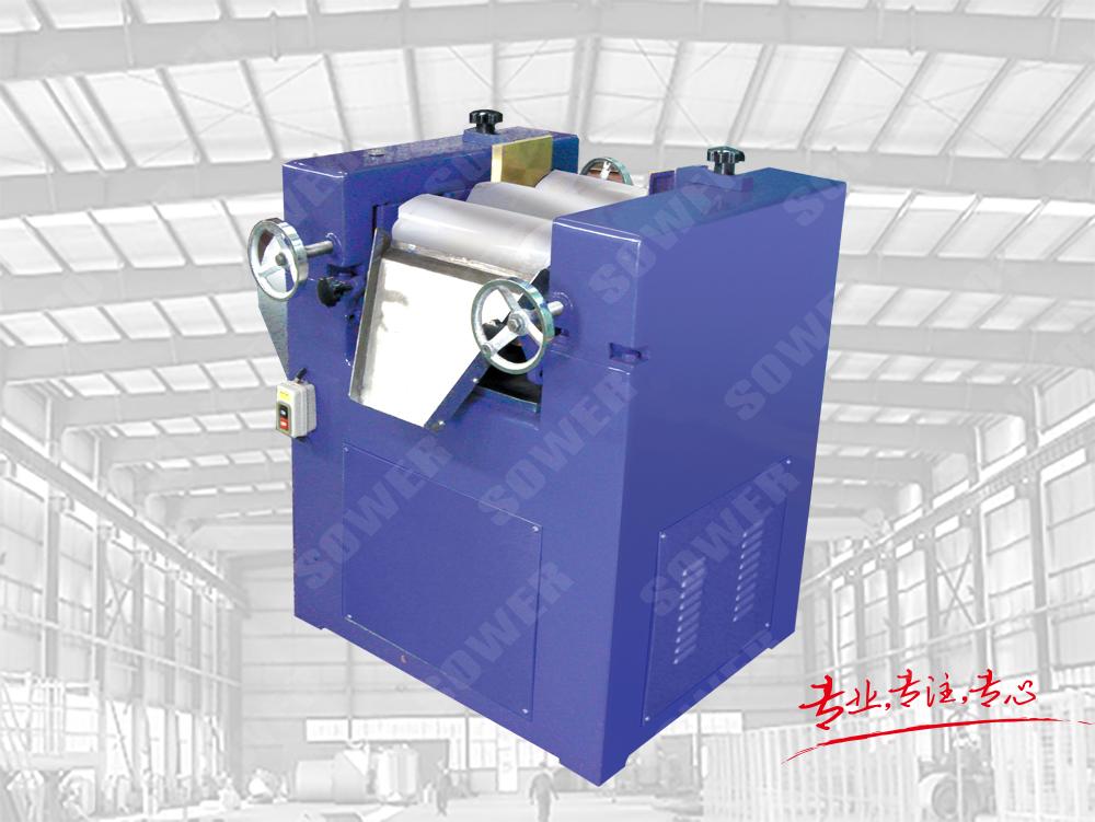 Lab three roller mill