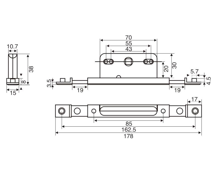 KW04 雙向傳動盒