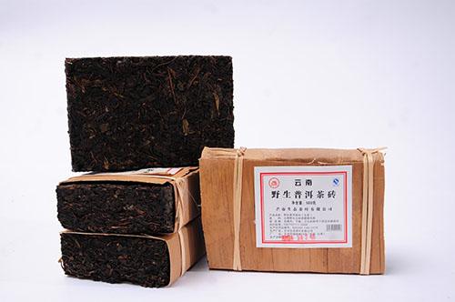 云宏野生砖茶
