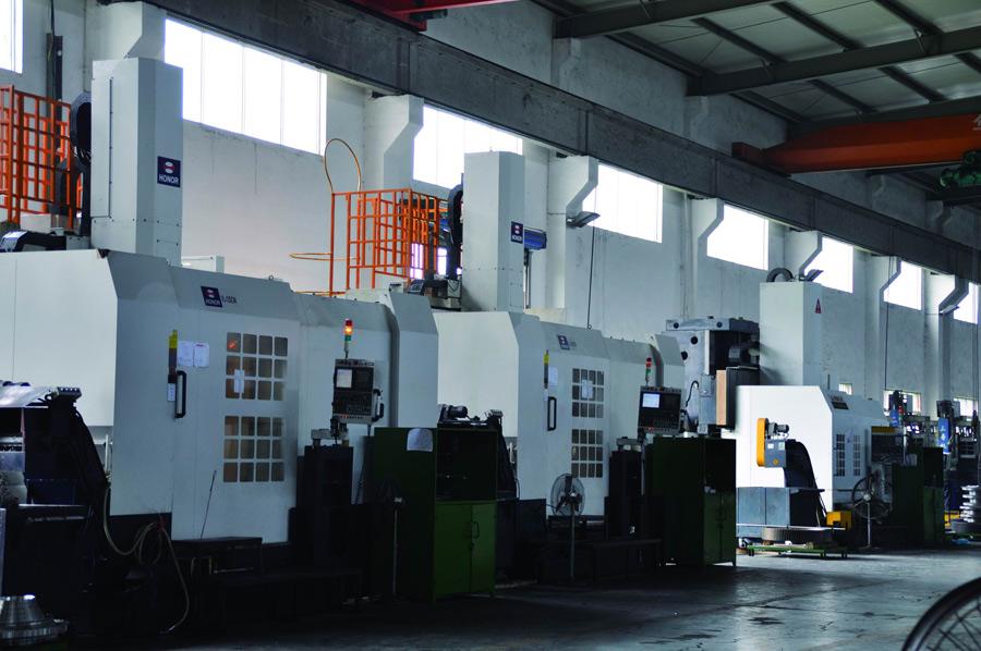 进口高精度立式车铣加工中心机群