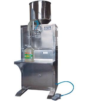 Fl1-5l semi-automatic liquid filling capping machine