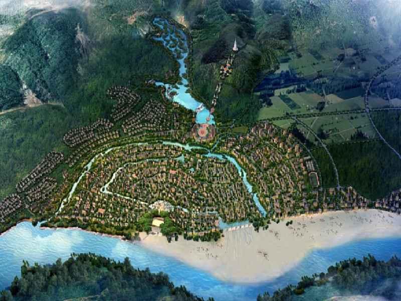 景洪西雙版納-瀾滄江橄欖壩項目