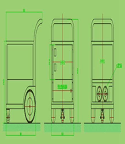 TR-9300Y固废垃圾焚烧移动式烟气检测仪